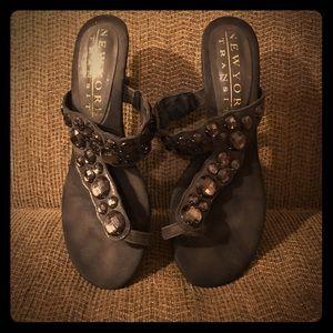 New York Transit Sandals